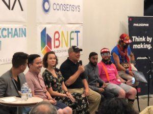 Bitcoin Ben at Blockchain Beach LA Conference