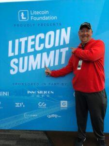 Bitcoin Ben at Litecoin Summit